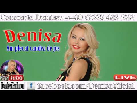 DENISA LIVE -  Am plecat candva de jos (NUNTA 2015) Cele mai noi manele Septembrie