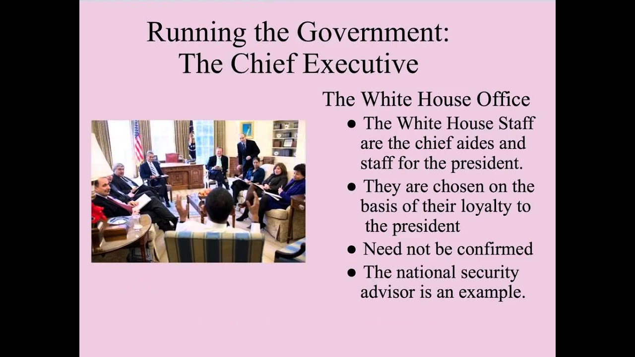 executive office of the president