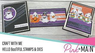 Craft With Me   Boo-tiful Stamps, Dies and GLITTER!