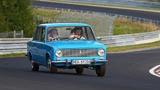 I'M BACK IN A LADA ON THE NÜRBURGRING!