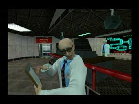 [ps2] Half-Life: Hazard Course.
