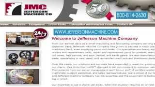Jefferson Machine Company heavy equipment repairs and replacement parts for presses in Pennsylvania