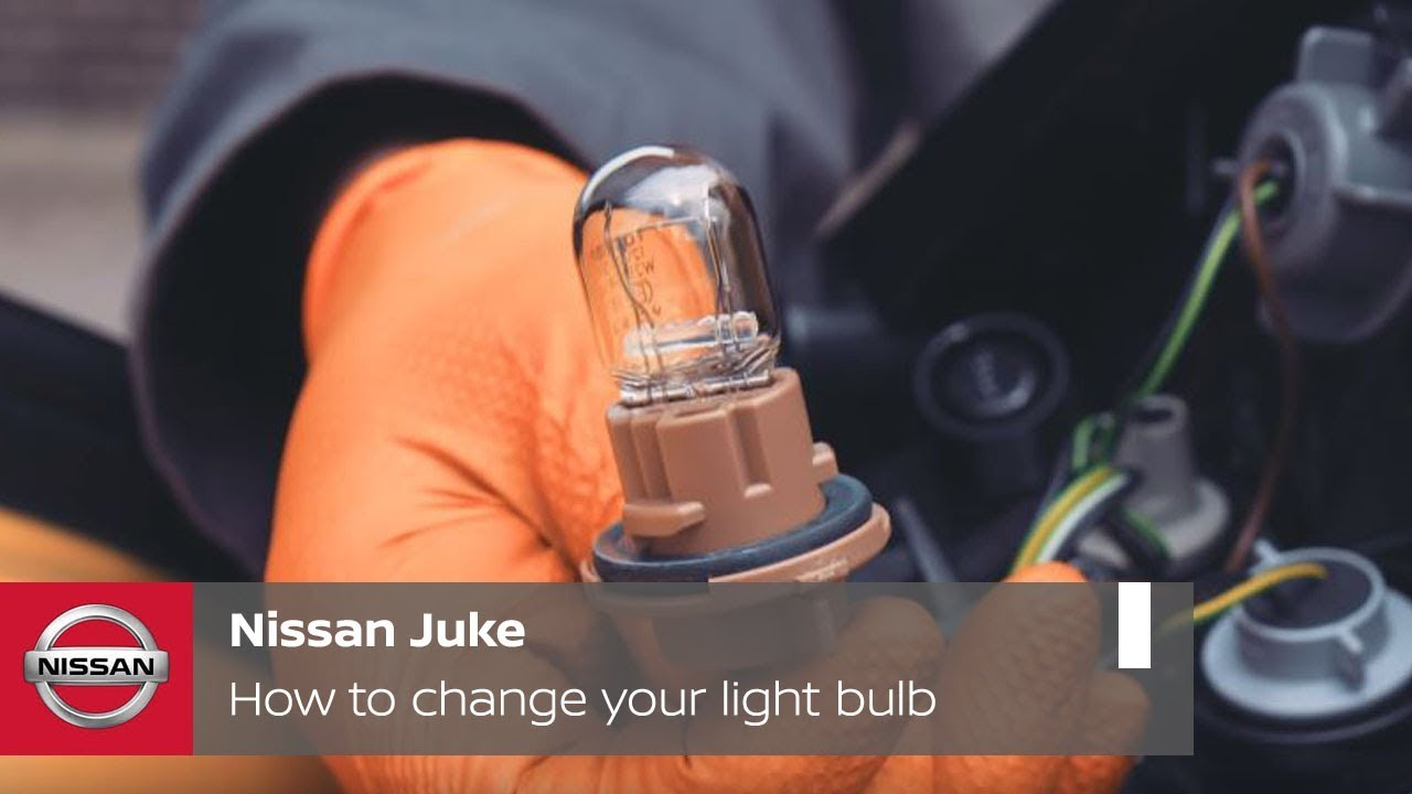 Nissan Juke Tutorial How To Change Your Light Bulb Youtube Wiring A Fitting