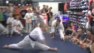 Trening Karate w sklepie Decathlon Zabrze