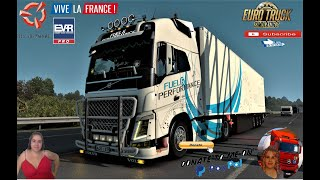 "Euro Truck Simulator 2 (1.39 Beta)   Volvo FH4 Generation v6.0 by Nikola with Lamberet Ownable Trailer Rotterdam to Lille DLC Vive la France by SCS Animated gates in companies v3.7 [Schumi] Real Company Logo v1.0 [Schumi] Company addon v1.8 [Schumi] Trailers and Cargo Pack by Jazzycat Motorcycle Traffic Pack by Jazzycat FMOD ON and Open Windows Naturalux Graphics and Weather Spring Graphics/Weather v3.6 (1.38) by Grimes Test Gameplay ITA Europe Reskin v1.0 + DLC's & Mods Standalone 4 cabins 3 chassis Your wheels Your interior (options) Animation of glass Sounds from kriechbaum Cable support DLC Cabin Accessories support Lots of tuning and accessories  For Donation and Support my Channel https://paypal.me/isabellavanelli?loc... #JoeBidenforPresident  SCS Software News Iberian Peninsula Spain and Portugal Map DLC Planner...2020 https://www.youtube.com/watch?v=NtKeP... Euro Truck Simulator 2 Iveco S-Way 2020 https://www.youtube.com/watch?v=980Xd... Euro Truck Simulator 2 MAN TGX 2020 v0.5 by HBB Store https://www.youtube.com/watch?v=HTd79...  #TruckAtHome #covid19italia Euro Truck Simulator 2    Road to the Black Sea (DLC)    Beyond the Baltic Sea (DLC)   Vive la France (DLC)    Scandinavia (DLC)    Bella Italia (DLC)   Special Transport (DLC)   Cargo Bundle (DLC)   Vive la France (DLC)    Bella Italia (DLC)    Baltic Sea (DLC) Iberia (DLC)   American Truck Simulator New Mexico (DLC) Oregon (DLC) Washington (DLC) Utah (DLC) Idaho (DLC) Colorado (DLC)     I love you my friends Sexy truck driver test and gameplay ITA  Support me please thanks Support me economically at the mail vanelli.isabella@gmail.com  Roadhunter Trailers Heavy Cargo  http://roadhunter-z3d.de.tl/ SCS Software Merchandise E-Shop https://eshop.scssoft.com/  Euro Truck Simulator 2 http://store.steampowered.com/app/227... SCS software blog  http://blog.scssoft.com/  Specifiche hardware del mio PC: Intel I5 6600k 3,5ghz Dissipatore Cooler Master RR-TX3E  32GB DDR4 Memoria Kingston hyperX Fury MSI GeForce GTX 1660 ARMOR OC 6GB GDDR5 Asus Maximus VIII Ranger Gaming Cooler master Gx750 SanDisk SSD PLUS 240GB  HDD WD Blue 3.5"" 64mb SATA III 1TB Corsair Mid Tower Atx Carbide Spec-03 Xbox 360 Controller Windows 10 pro 64bit"