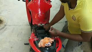 how to clean air filter Suzuki gixxer SF