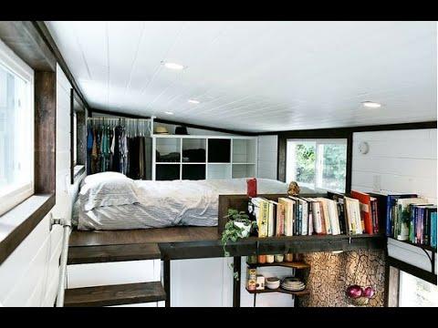 50 Best Tiny House Interiors  Part 1  YouTube