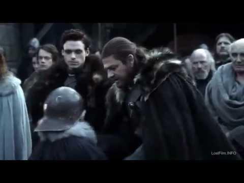 Игра Престолов 2 сезон (2012) новый трейлер (русский пер.)