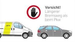 Hertz 24/7: Fahrtipps für Transporter