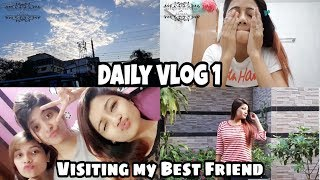 Daily Vlog 1    Visiting my Best Friend & Chit Chat- Makeup Maniac By Linda