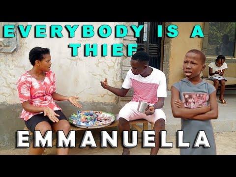 EMANUELLA & GLORIA EVERYBODY IS A THIEF (mark angel comedy) (mind of freeky comedy)