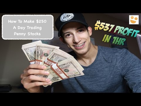 $537 Profit In 1 HR | Day Trading Penny Stocks: How To Trade: $TOPS, $ETRM,  $JNUG | Episode 57