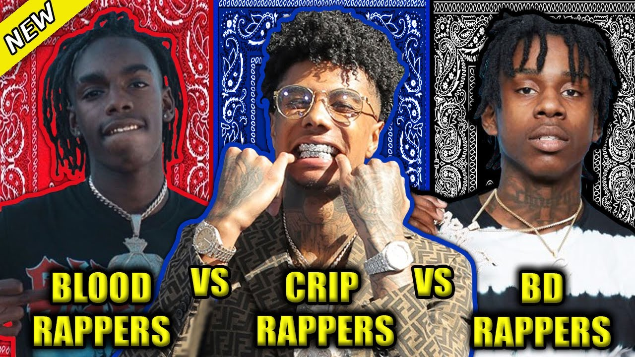 BLOOD RAPPERS VS CRIP RAPPERS VS BLACK DISCIPLE RAPPERS 2020