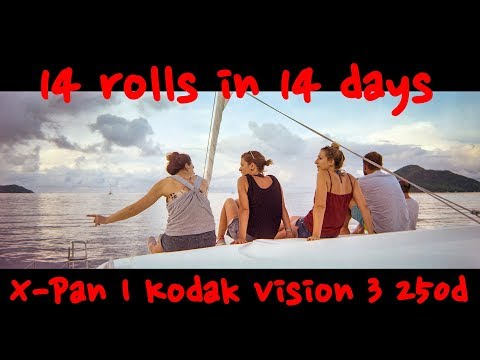 14 rolls in 14 days | Sailing Seychelles | Hasselblad Xpan | Kodak Vision 3 250d | Day 4