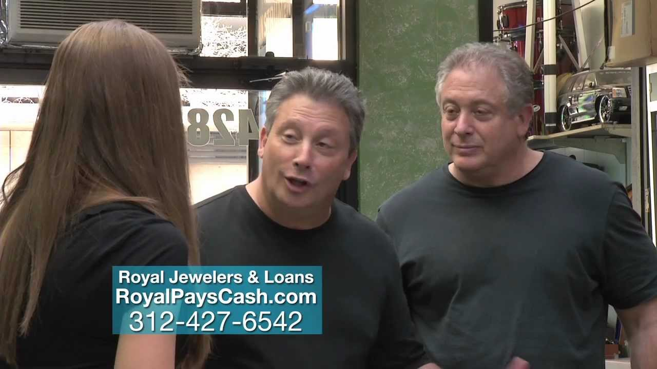 Royal Jewelers & Loans pays you more cash for gold and diamonds in Chicago, IL