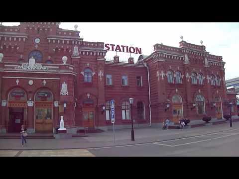Казань #14  Ж/Д вокзал, автовокзал