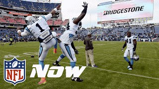 Cam Newton: A BIG Little Kid! | NFL Now