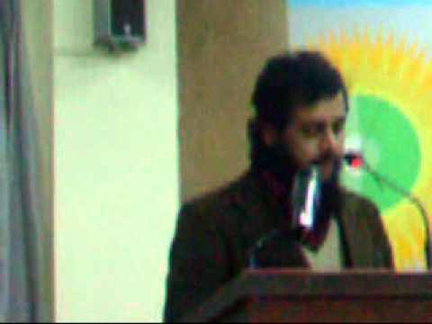 Naveed Malik, Sukhanwar Pakistan December Mushaira, Dec 31, 2012