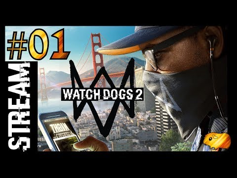 WATCH DOGS 2 #1 - Live-Stream vom 1.10.2017