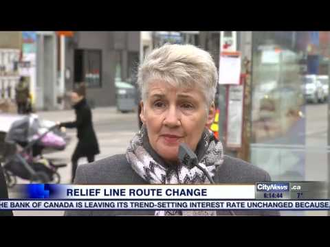 Video: Report calls for Downtown Relief Line route change