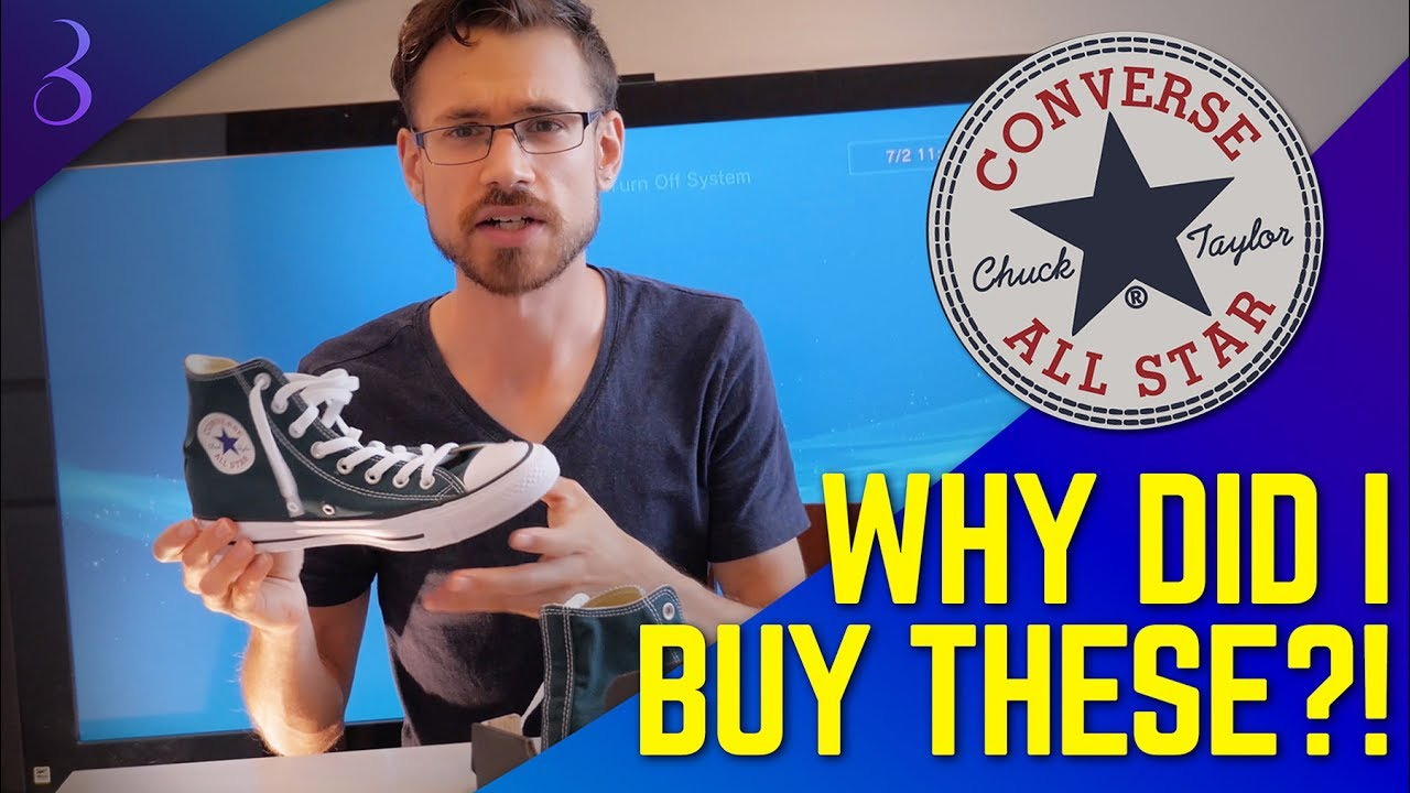 5 THINGS I HATE ABOUT CONVERSE CHUCK TAYLOR ALL STAR SHOES | Plus Chuck Taylor Unboxing