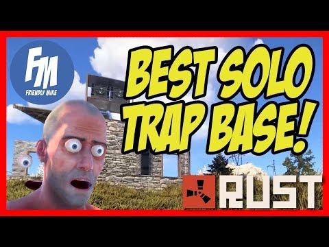THE BEST SOLO TRAP BASE! | Rust Solo Survival S24E02 thumbnail