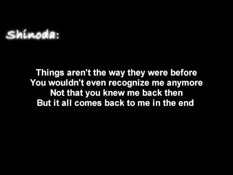 Linkin Park- In The End [ Lyrics on screen ] HD