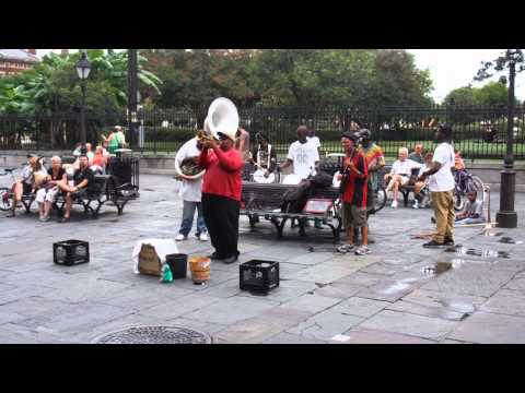 New Orleans. Dixieland on the street