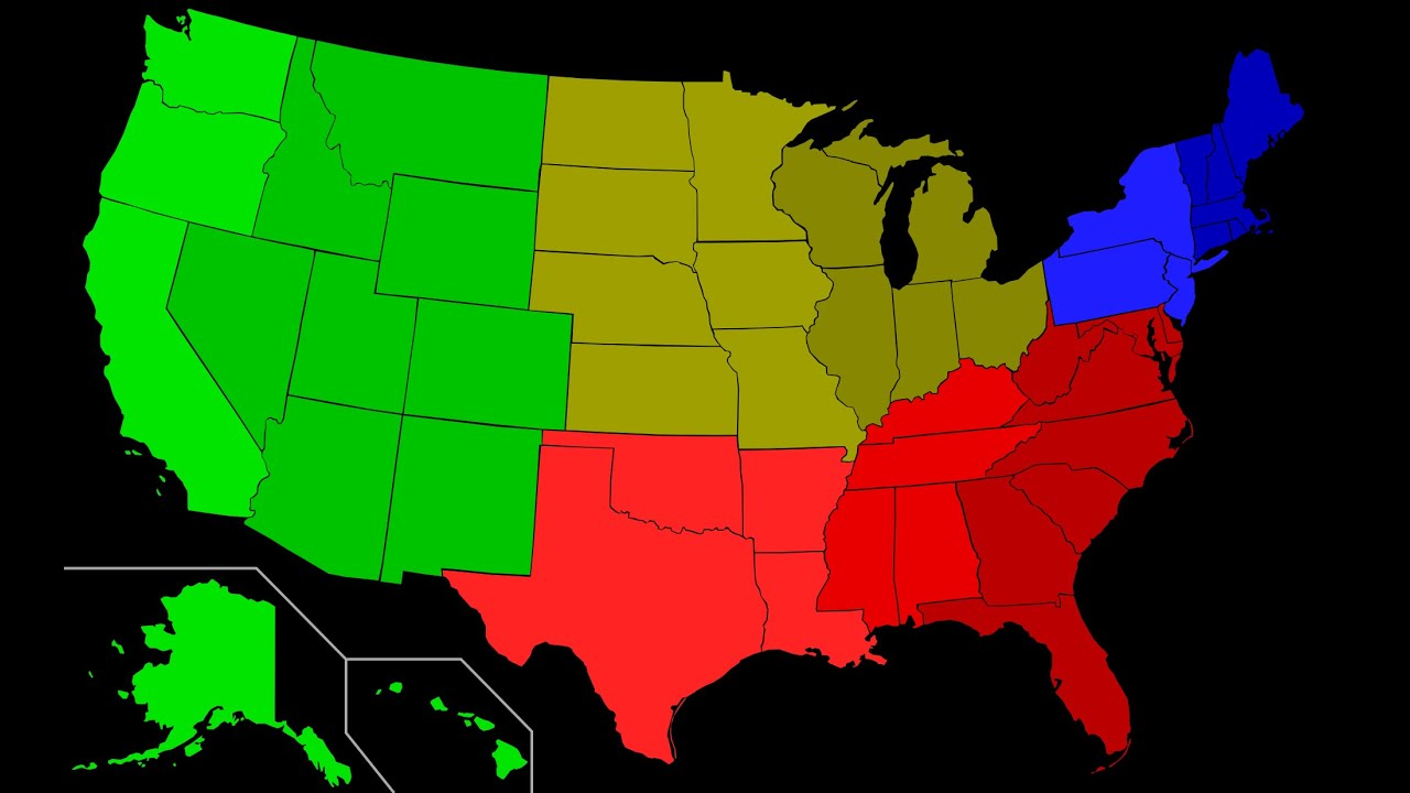 Dialects Dialect Map Of American English Accents Dialects The