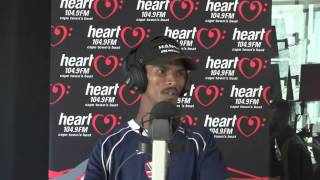 "Alen the singing car guard performing ""Stupid Girl"" on Heart 104.9FM"