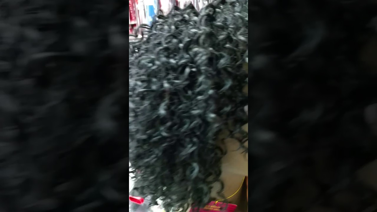 Tasha Human Hair 6 Hh Afro 3pcs For Weaving Youtube