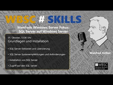 SQL Server 2019 - Grundlagen und Installation