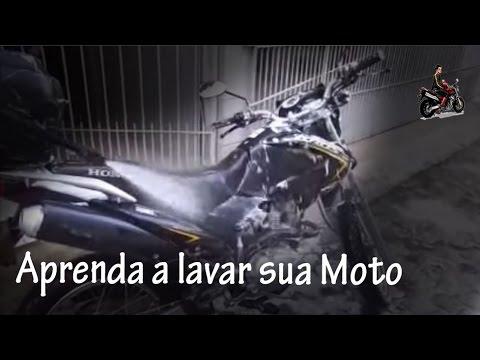 Como lavar sua Moto - Motociclista Henrique