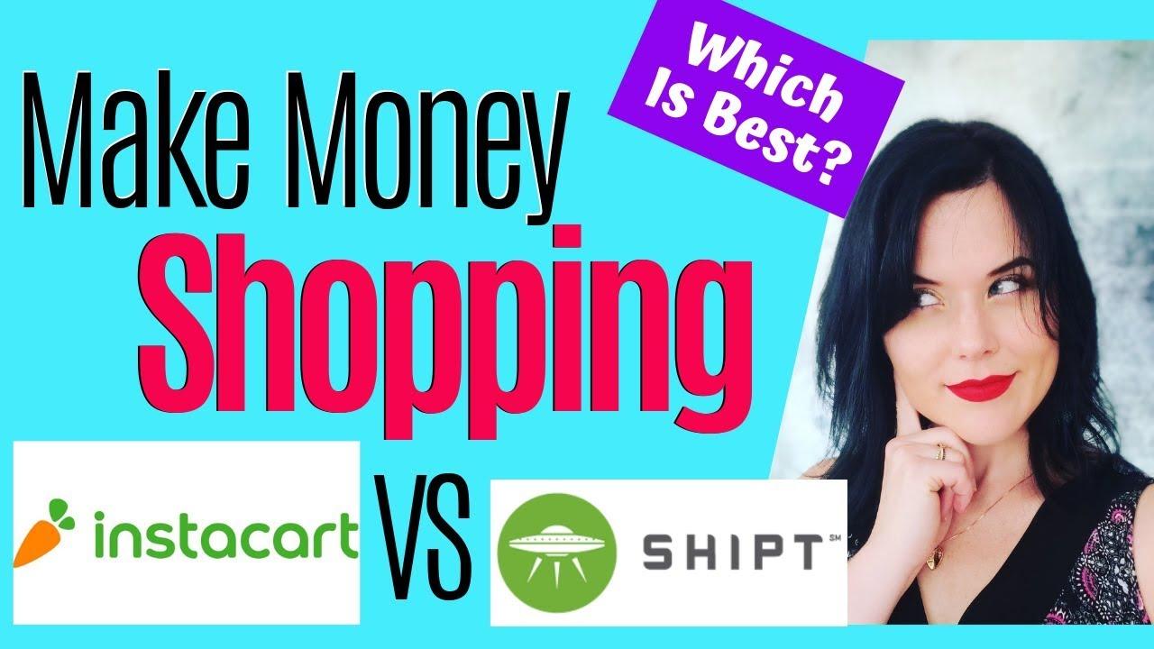 Instacart vs Shipt | Best Way To Make Money Shopping