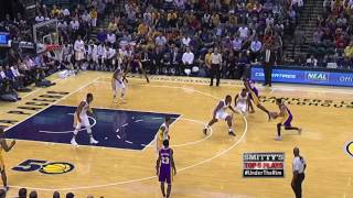 George and the Pacers Hold Off The Lakers