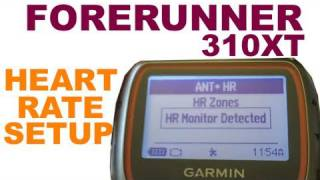 Garmin Forerunner 310 XT - Pairing Your Heart Rate Monitor