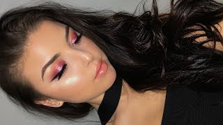 Valentines Day Makeup | Pink Glam Tutorial