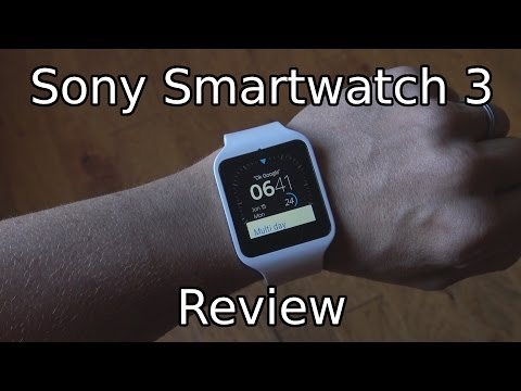 Sony Smartwatch 3 (SWR50) Review!