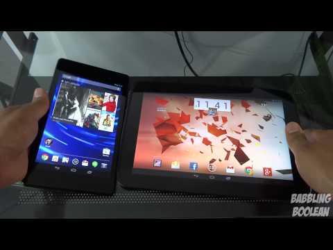 Nexus 7 2013 vs Nexus 10