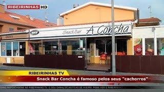 """Snack Bar a """"Concha"""" na Torreira tem como marca principal o famoso """"Cachorro"""""""