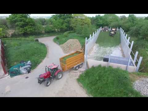 s c marsh contractors first cut silage 2017