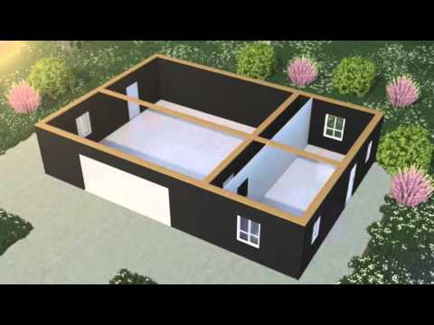 How can i build a cheap eco house myself youtube for Cheap house build