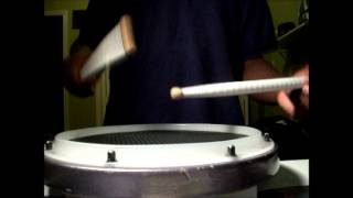 Old Skool Military Drum Cadence *REMIX*