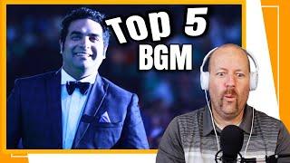 TOP 5 Malayalam BGM's by GOPI SUNDAR