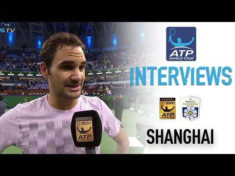 Federer Reflects On SF Win Over Del Potro Shanghai 2017
