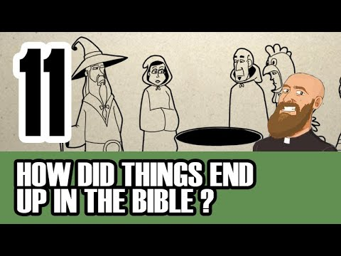 3MC - Episode 11 - Who decided what belongs in the Bible?