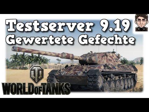World of Tanks - Testserver 9.19, Gewertete Gefechte & Update Infos [deutsch | News]