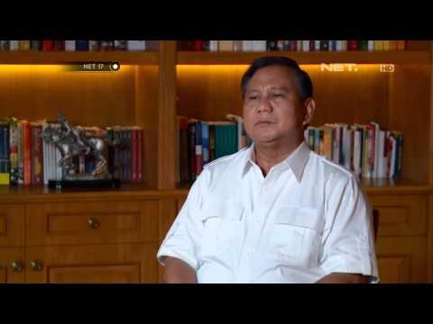 Wawancara Khusus NET17 Bersama Capres Prabowo Subianto