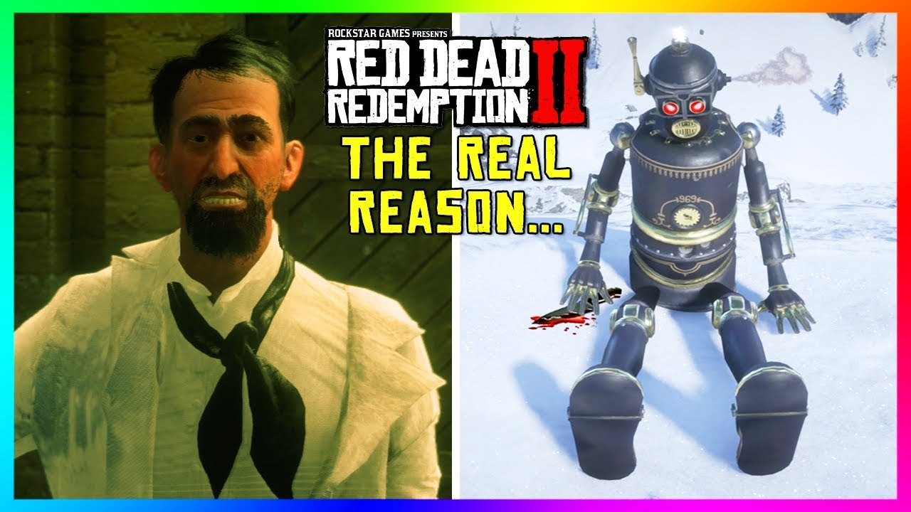 The REAL Reason Why Marko Dragic Created His Robot In Red Dead Redemption 2 Will SHOCK You! (RDR2)