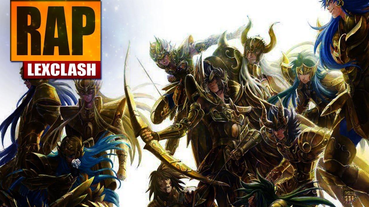 Download Rap dos Cavaleiros de Ouro (CDZ The Lost Canvas) ELITE DE ATHENA   LexClash